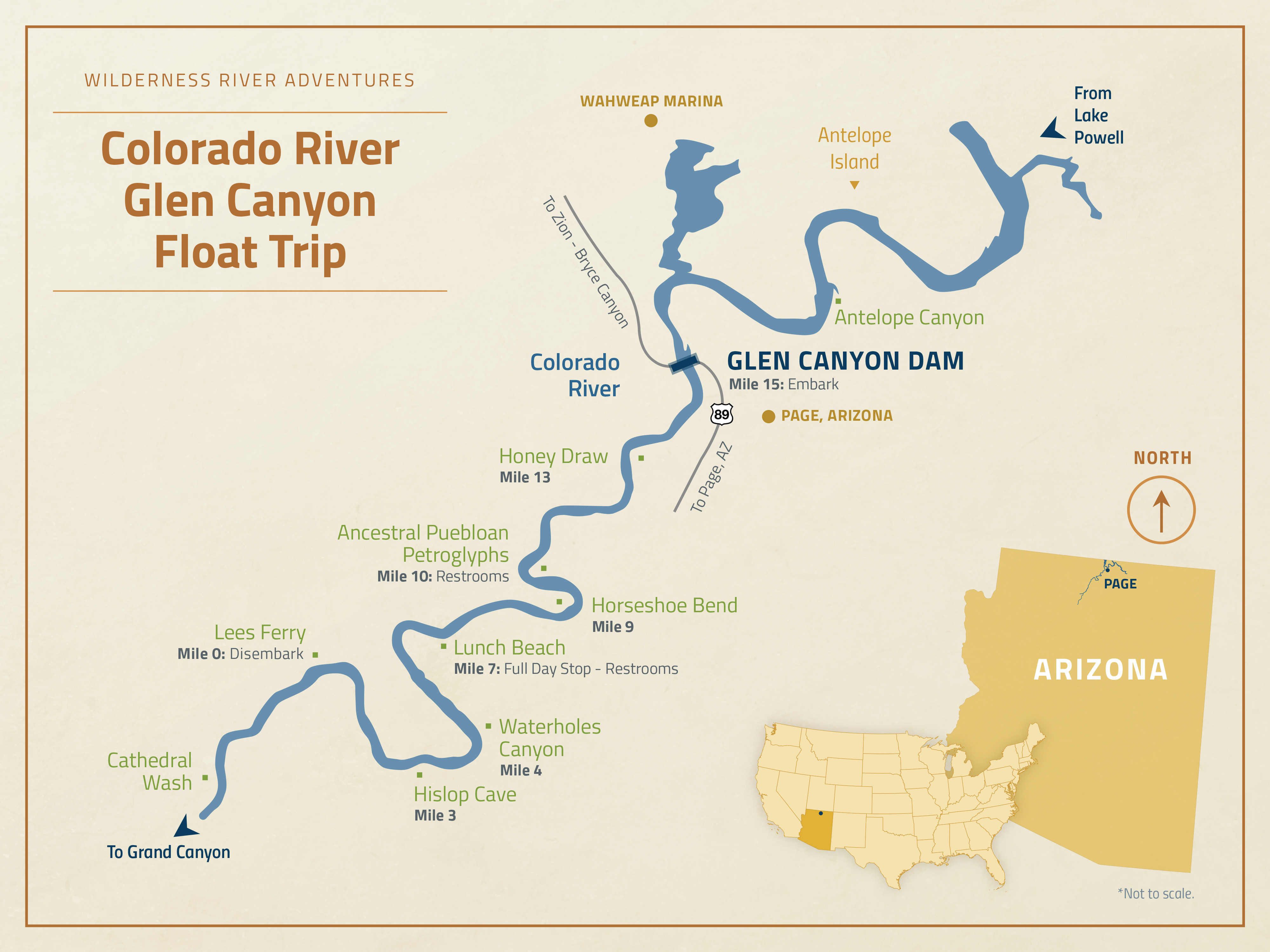 Glen Canyon Float Trip Experience | Wilderness River ...
